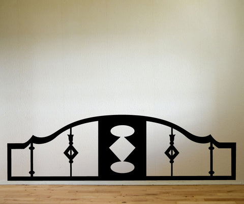 Vinyl Wall Decal Sticker Bed Frame #OS_MG154