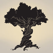 Vinyl Wall Decal Sticker Old Wise Tree #297