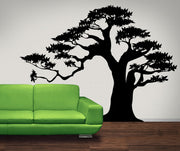 Bonsai Tree Vinyl Wall Decal Sticker. #AC150