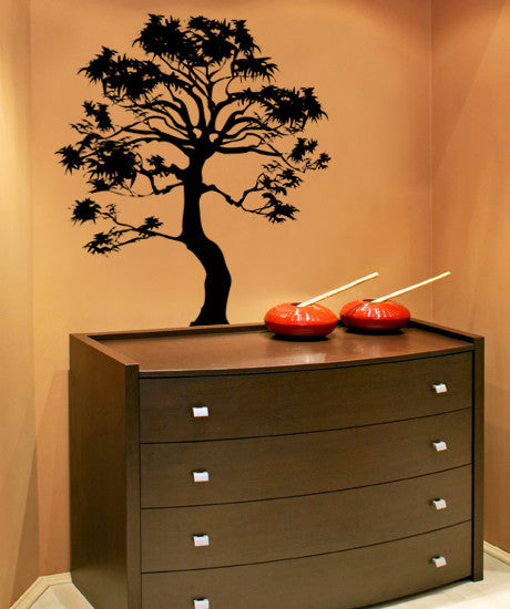 Vinyl Wall Decal Sticker Bonsai Tree #AC149