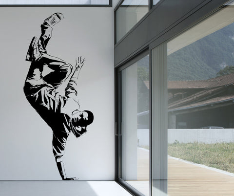 Vinyl Wall Decal Sticker Break Dancer #AC165