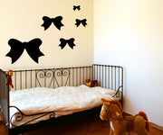 Vinyl Wall Decal Sticker Ribbons #OS_MG307