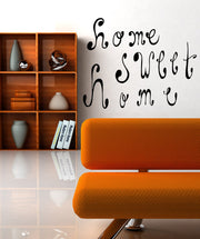 Vinyl Wall Decal Sticker Home Sweet Home #OS_MB471