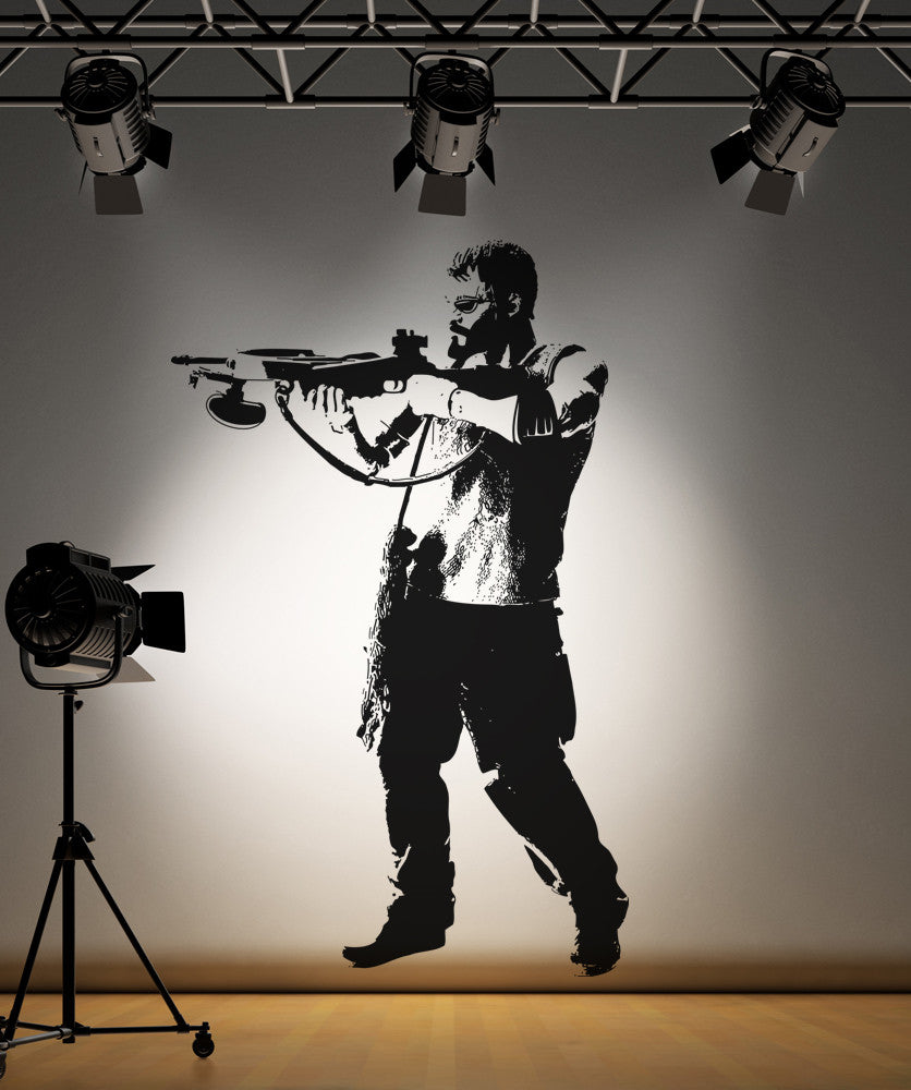 Vinyl Wall Decal Sticker Crossbow Hunter #OS_AA526