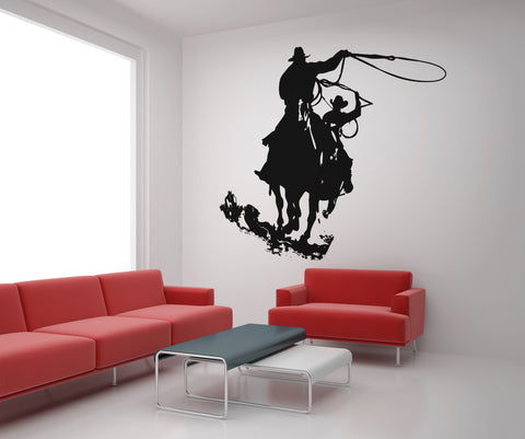 Vinyl Wall Decal Sticker Wild West Cowboys #OS_AA429