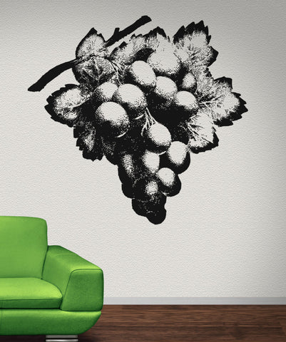 Grapes Vinyl Wall Decal Sticker. #OS_AA277