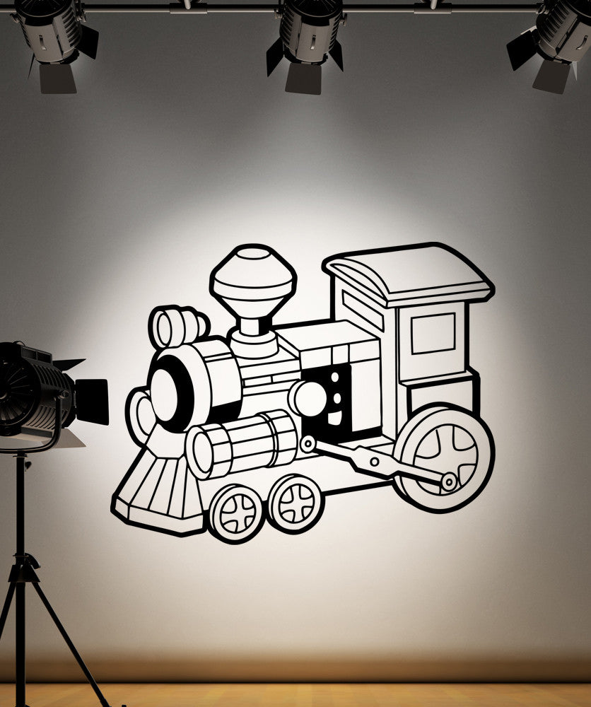 Vinyl Wall Decal Sticker Choo Choo Train #OS_AA216