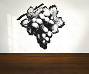 Vinyl Wall Decal Sticker Grapes #OS_AA277