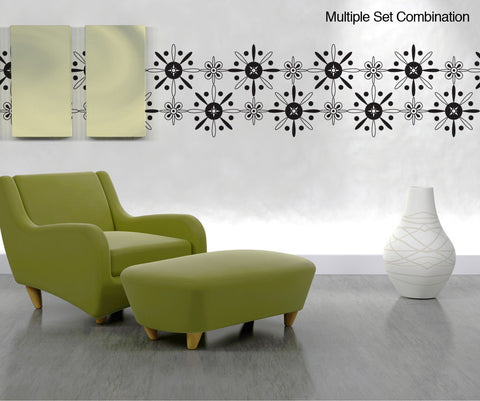 Vinyl Wall Decal Sticker Abstract Stars #OS_DC321