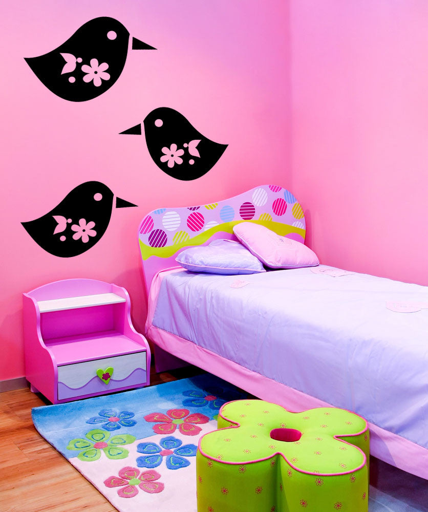 Vinyl Wall Decal Sticker Peeps #OS_MG340