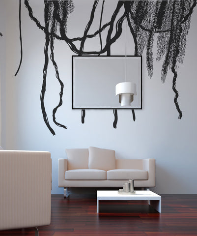 Vinyl Wall Decal Sticker Jungles Vines #OS_AA294
