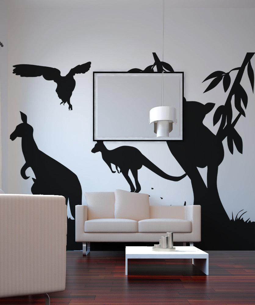 Vinyl Wall Decal Sticker Australian Animals OSAA - Vinyl wall decals animals