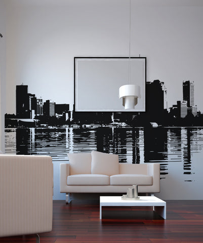 Vinyl Wall Decal Sticker Sydney Bulidings #OS_AA491
