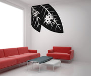 Vinyl Wall Decal Sticker Ladybugs on Leaves #OS_AA224