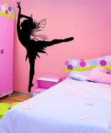 Vinyl Wall Decal Sticker Fairy Dancer #AC189
