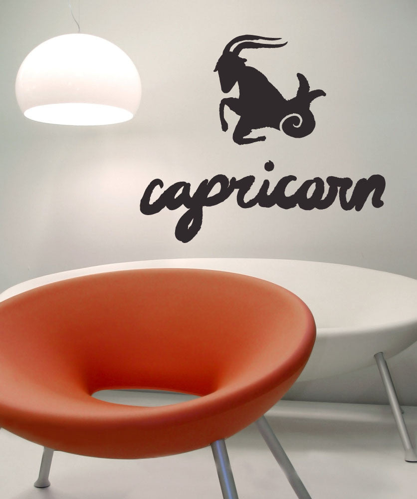 Vinyl Wall Decal Sticker Capricorn #OS_MB439