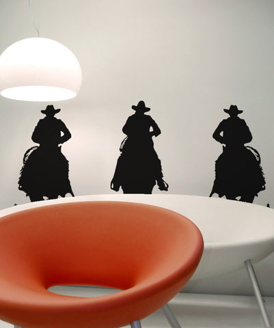 Vinyl Wall Decal Sticker Riding in the Wild West #OS_AA431
