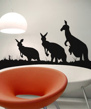 Vinyl Wall Decal Sticker Kangaroos #OS_AA476