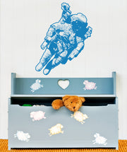 Vinyl Wall Decal Sticker Flying Astronaut #OS_AA174