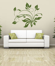Tangle of Leaves Vinyl Wall Decal Sticker.  #OS_AA254
