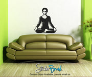 Vinyl Wall Decal Sticker Yoga Poses #OS_AA105