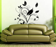 Vinyl Wall Decal Sticker Swirly Leaves #OS_AA381