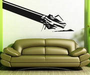 Vinyl Wall Decal Sticker Crossbow Arrow #OS_AA521