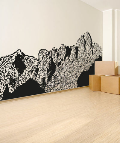 Vinyl Wall Decal Sticker Grand Canyon Peaks #OS_AA556