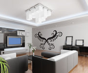 Vinyl Wall Decal Sticker Vector Butterfly Wings #OS_DC229