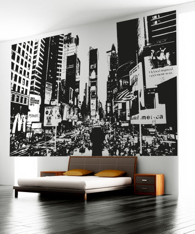 Vinyl Wall Decal Sticker NY Times Square #OS_AA557