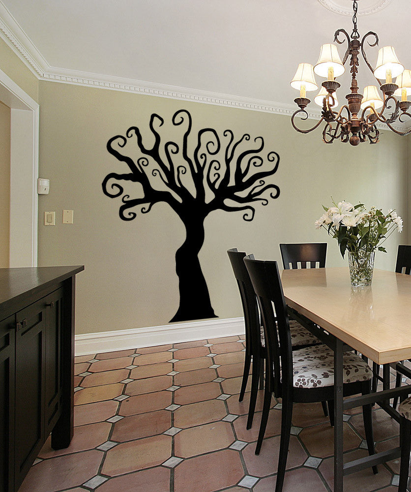 Vinyl Wall Decal Sticker Enchanted Forest Tree #OS_MB480