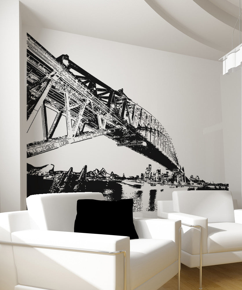 Vinyl Wall Decal Sticker Sydney Habor #OS_AA487