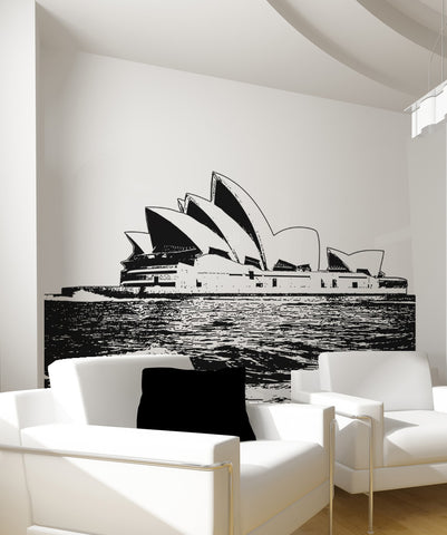 Vinyl Wall Decal Sticker Sydney Opera House #OS_AA488