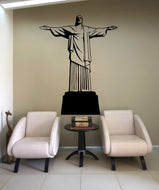 Vinyl Wall Decal Sticker Cristo Redentor #OS_MB558