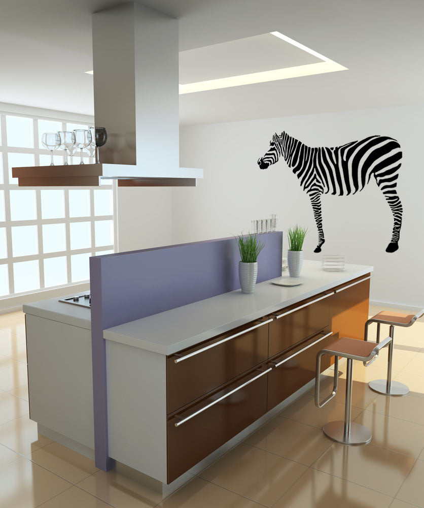 Vinyl Wall Decal Sticker Zebra #OS_MB555
