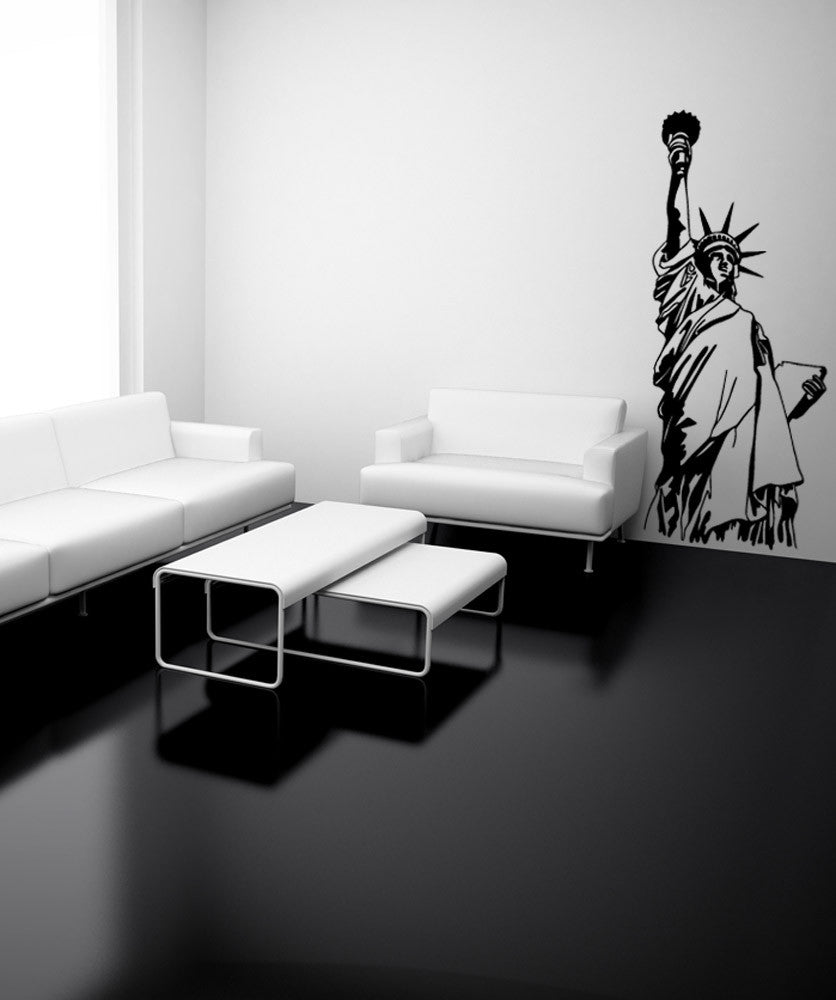 Vinyl Wall Decal Sticker NYC Statue of Liberty #OS_MB522