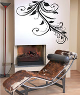 Vinyl Wall Decal Sticker Swirly Vines #OS_AA365