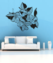 Vinyl Wall Decal Sticker Tropical Flowers #OS_AA261