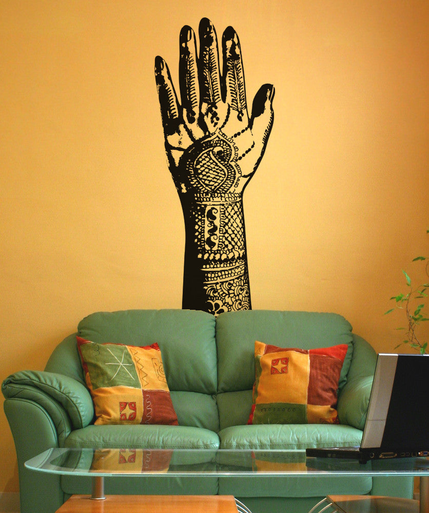 Vinyl Wall Decal Sticker Henna Tattoo #OS_AA384