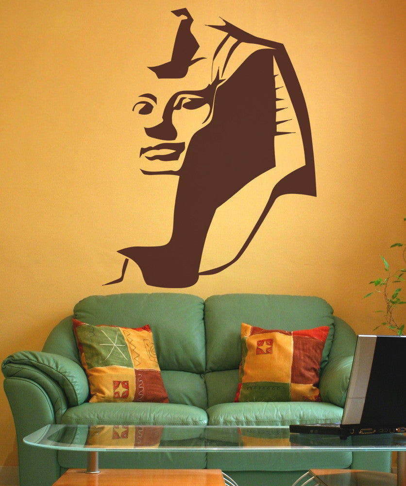 Vinyl Wall Decal Sticker Egyptian Pharaoh #OS_AA536