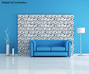 Vinyl Wall Decal Sticker Abstract Blocks #OS_DC325