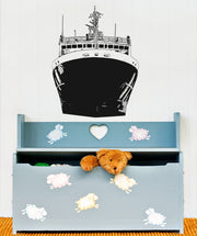 Vinyl Wall Decal Sticker Front of Ship #OS_AA316