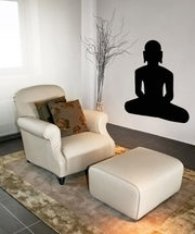 Vinyl Wall Decal Sticker India Meditation #OS_MB519