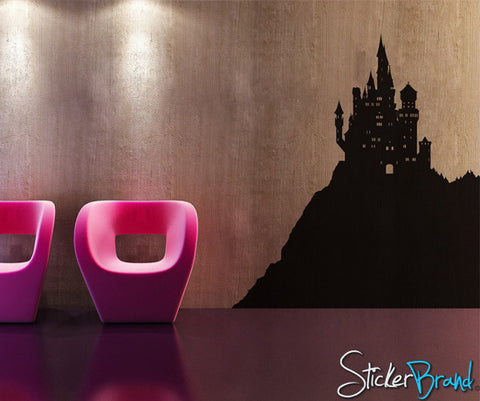 Vinyl Wall Decal Sticker Castle #KTudor101