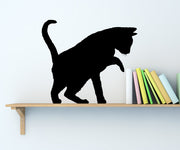 Vinyl Wall Decal Sticker Playful Cat Shadow #AC199