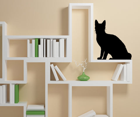 Vinyl Wall Decal Sticker Cat Shadow #AC198