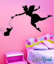 Graphic Wall Decal Fairy God Mother #CBenson102
