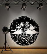 Vinyl Wall Sticker Decal Celtic Tree #SIrwin106