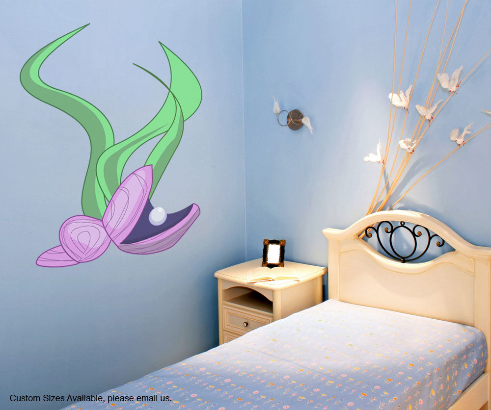 Graphic Wall Decal Sticker Clam #OS_MG157