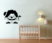 Vinyl Wall Decal Sticker Short Clown with Hat #OS_MG323